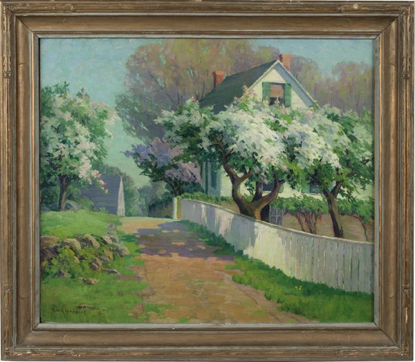 Alice Roney Hardwick Spring Blossoms Framed