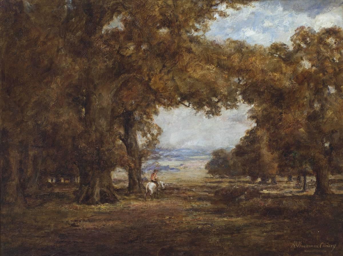 REBECCA C. BUCHANAN Autumn Landscape Unframed