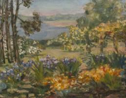 Agnes Louise Symmers The Artist's Garden, Rye, New York
