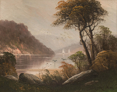 Martini Fall in the Hudson Highlands Unframed