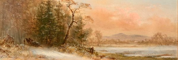 James Brade Sword Winter unframed