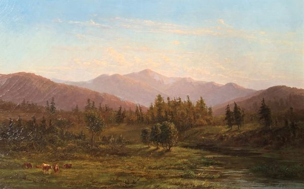 Ann Sophia Towne Darrah A View of the Androscoggin River Valley, White Mountains, New Hampshire