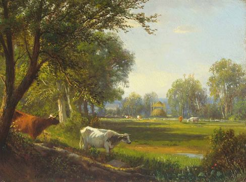 William Hart Summer Meadow, 1860 unframed