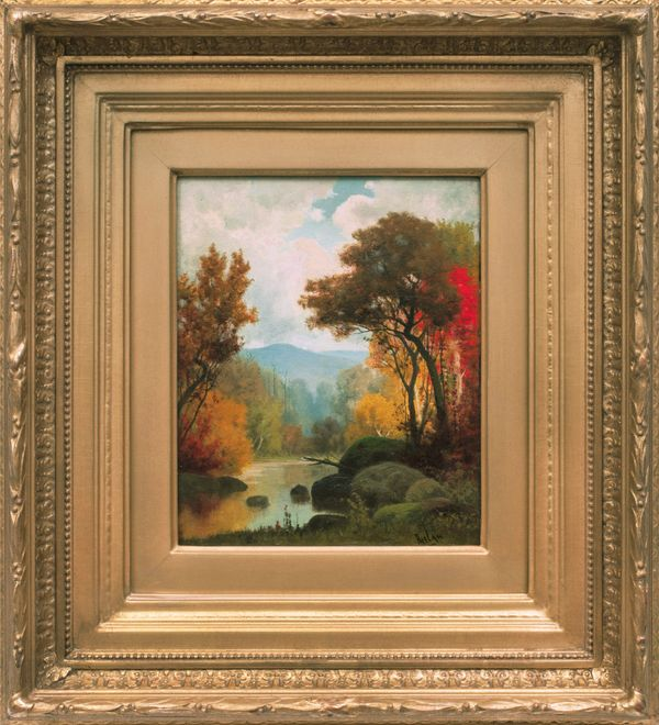 Charles Phelan Landscape in Autumn Framed