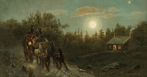 Clinton Loveridge Carriage by Moonlight Unframed.jpg_dontuse
