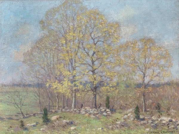 Clark Greenwood Voorhees Early Spring Landscape unframed