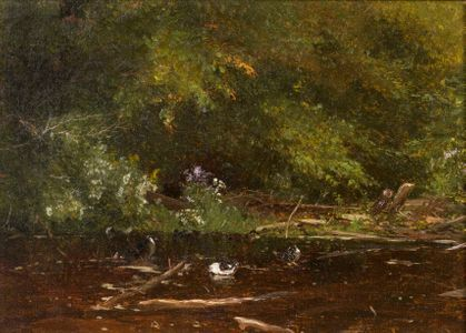 Jervis McEntee  Brook at Scribners (Catskills) Unframed
