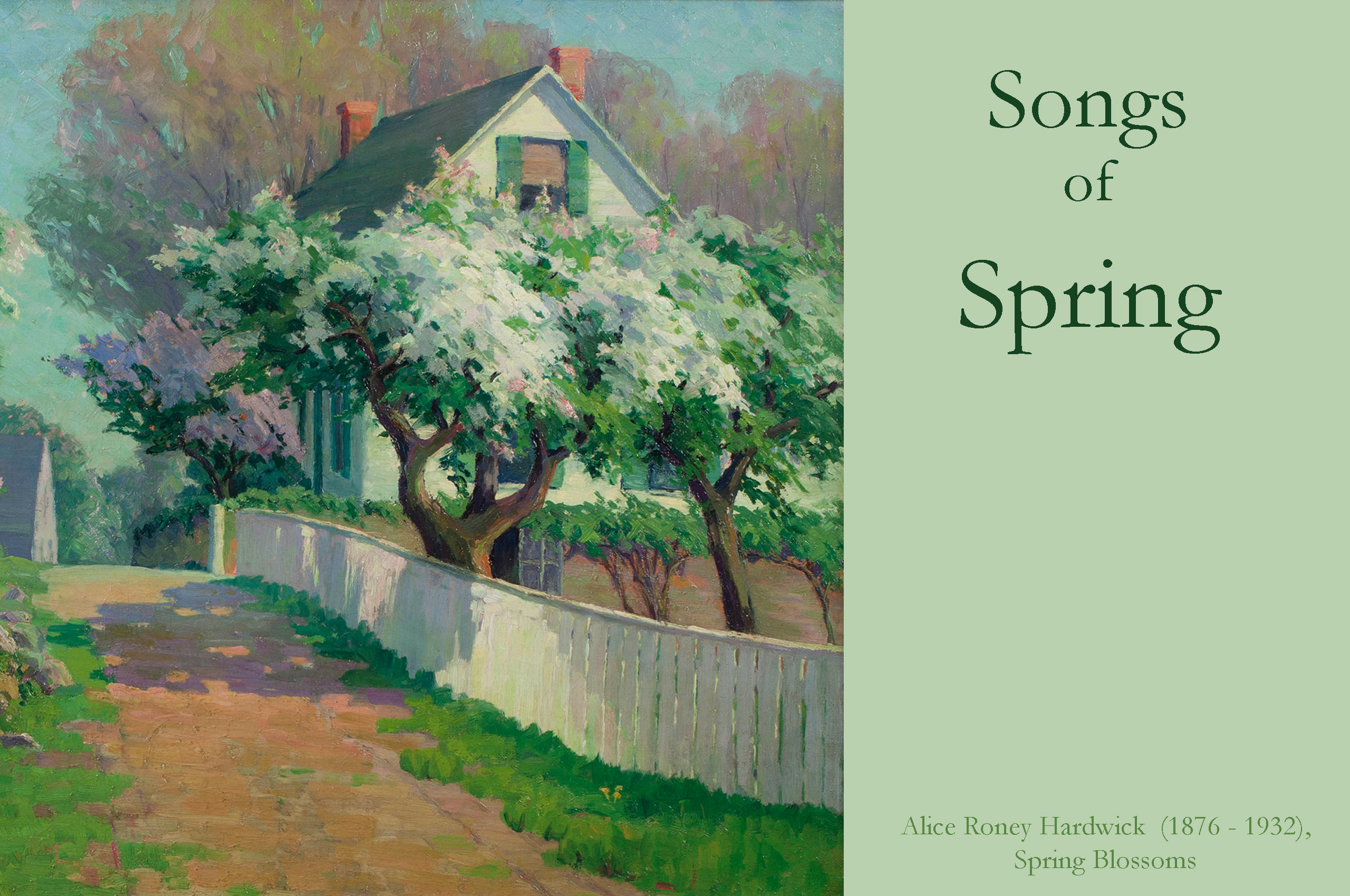 Songs of Spring Web Banner