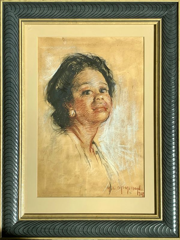 Mary Lane McMillan Portrait of a Nurse, 1976