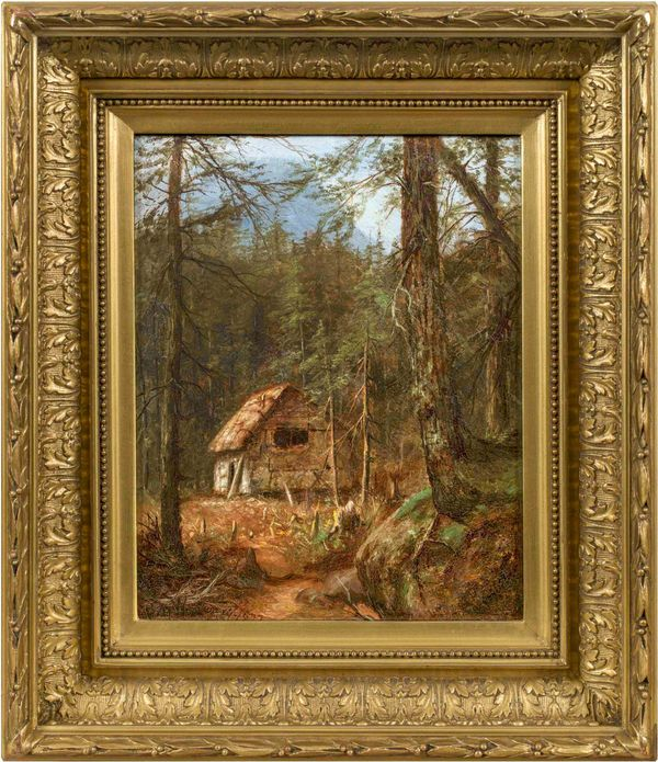 Laura Woodward Home in the Wilderness Framed
