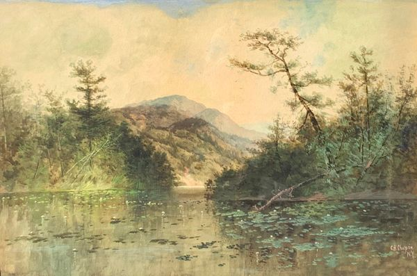 Charles Chapin Lake in the Adirondacks unframed