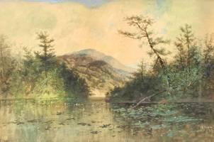 Charles Chapin Lake in the Adirondacks unframed