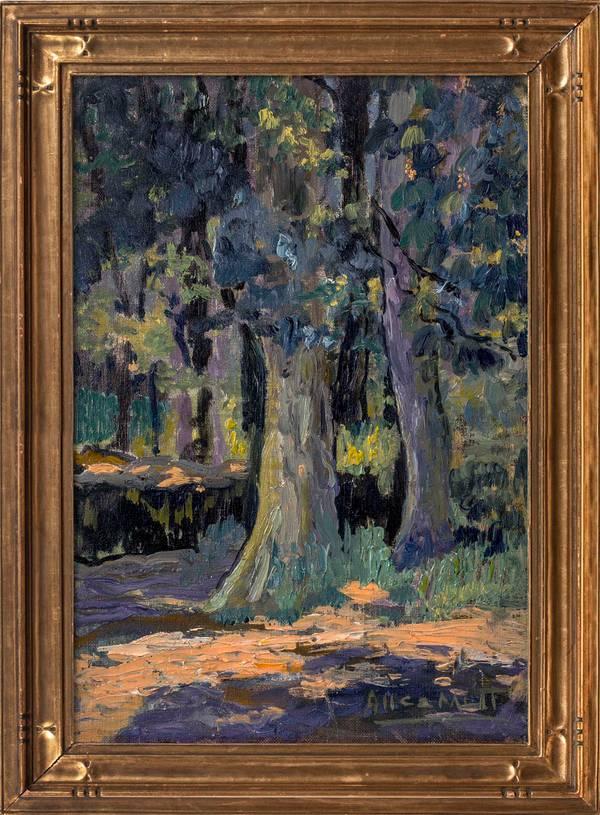 Alice Lolita Muth Cypress Trees framed
