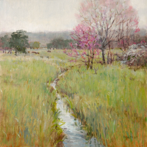 Mallory Agerton Red Bud Spring Unframed