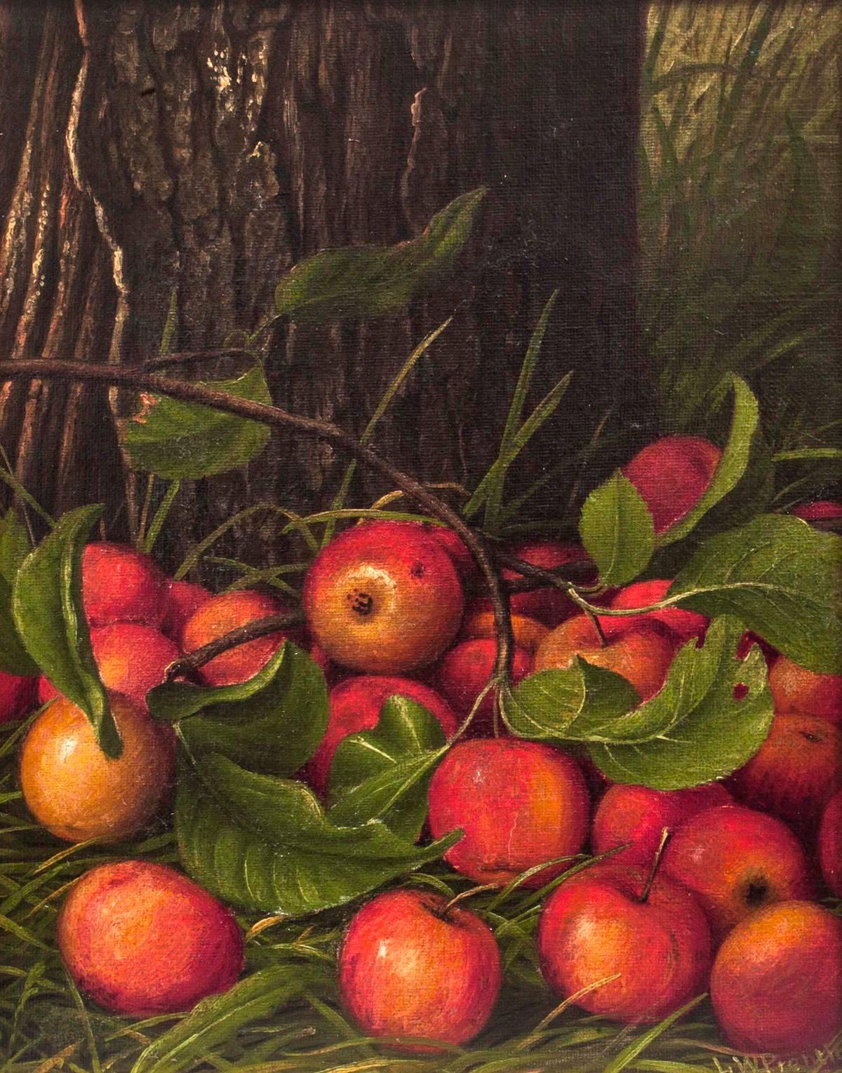 Levi Wells Prentice Apples Under a Tree Unframed