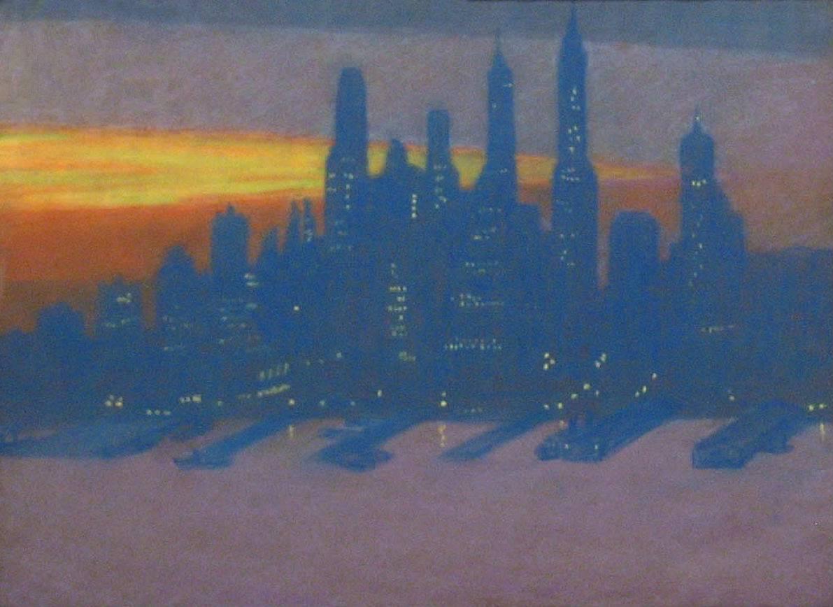 Lola Maverick Lloyd Manhattan Skyline Unframed