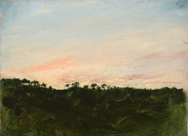 Zoe Worthington Fiske Sunset Study 1