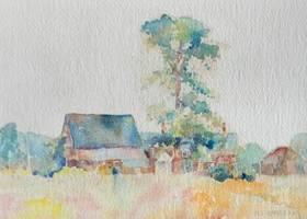 Mary Lane McMillan Maine Farmhouse