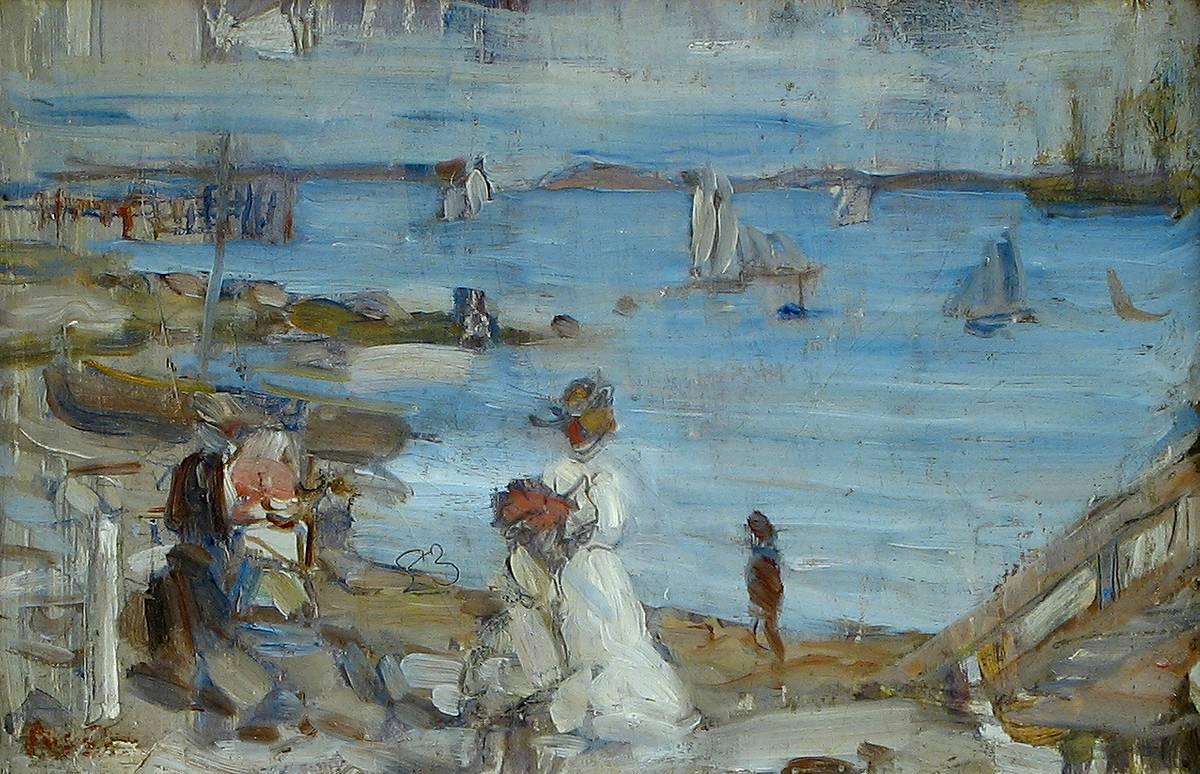 Maurice Brazil Prendergast Harbor-Finistère Unframed