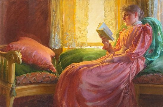 Charles Courtney Curran Girl in the Window, 1892