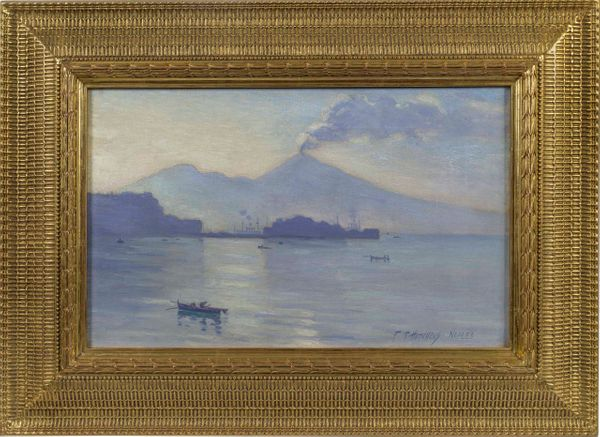 Frank Townsend Hutchens Naples framed