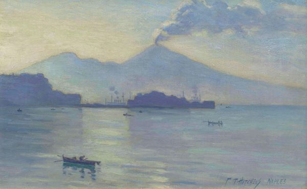 Frank Townsend Hutchens Naples unframed