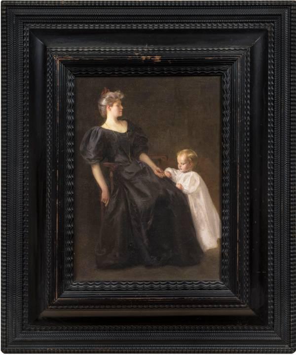 Mowbray, Henry Siddons-Portrait of the Artist's Family.jpg
