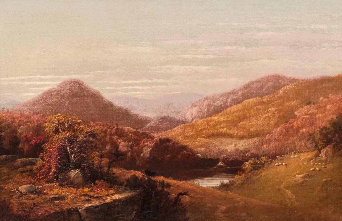 John Williamson Catskill Clove Unframed