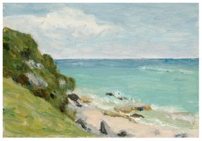 Voorhees, Clark_Landscape with Beach and Ocean.jpg