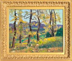 Alice Lolita Muth Yellow Leaves unframed
