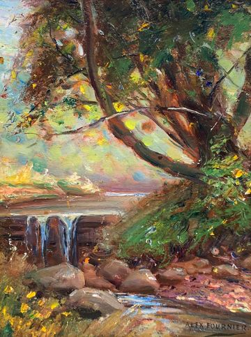 Alexis Fournier The Babbling Brook