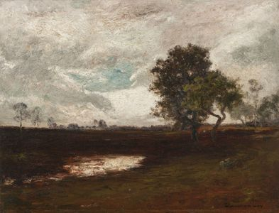 Edward Gay  After a Storm Unframed