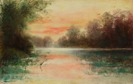Alice Archer Sewall James Evening in the Marshes