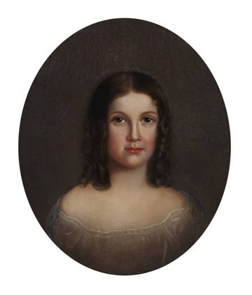 Mary Jane Peale Clara E. Peale, 1858 unframed