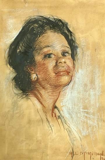 Mary Lane McMillan Portrait of a Nurse, 1967