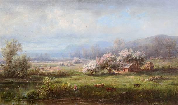 Régis François Gignoux Spring Landscape Unframed