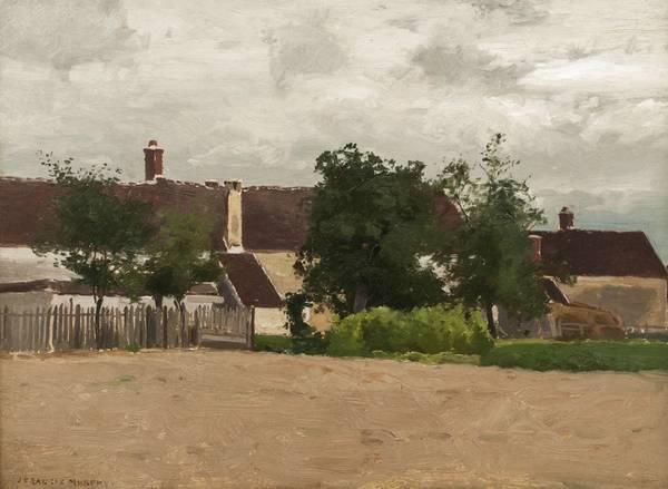 John Francis Murphy The Little Village Unframed