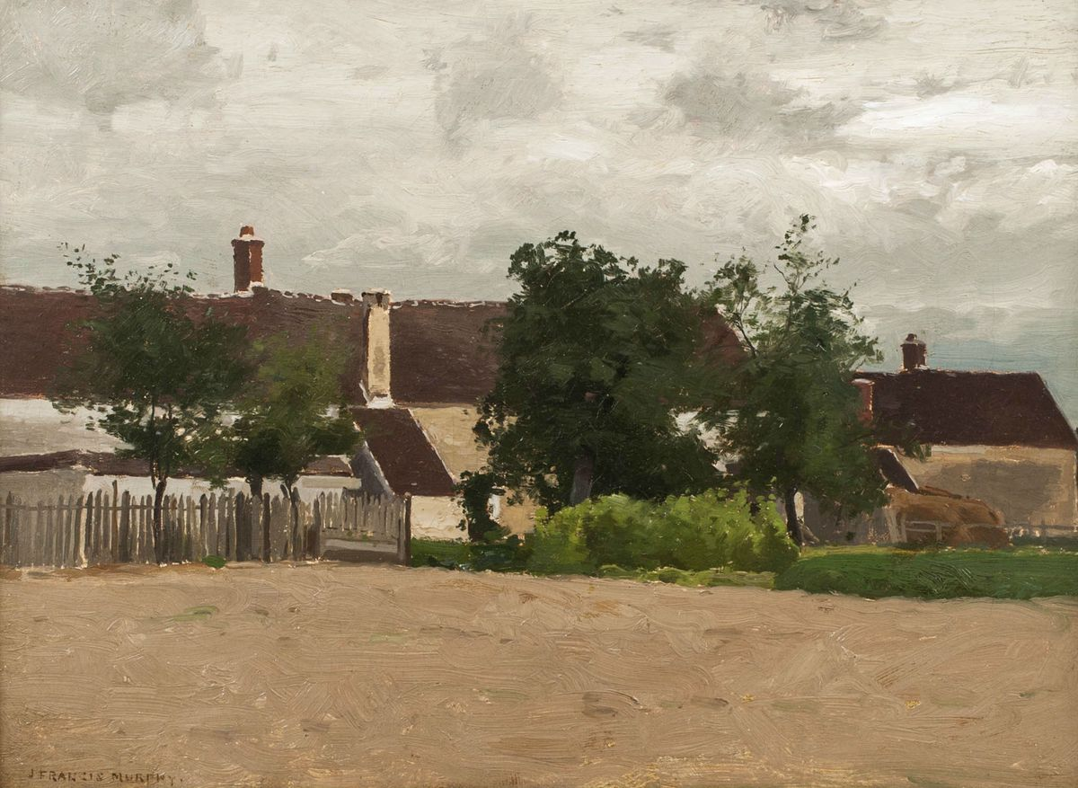John Francis Murphy The Little Village Unframed