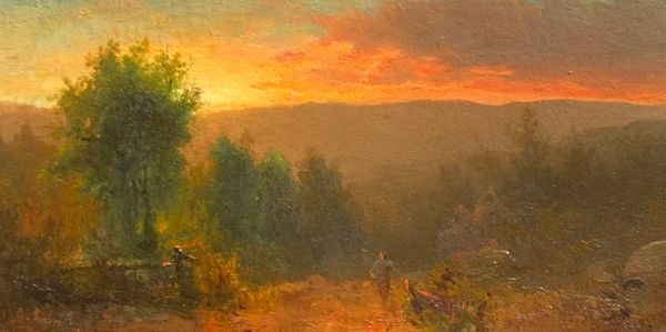 Carl (Charles) August Sommer Sunlight in the Catskills, c. 1860