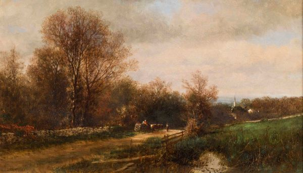 James McDougal Hart A Day in November, 1863 unframed