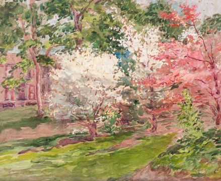 Alice Preble Tucker de Haas Dogwood Blossoms