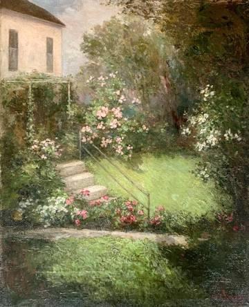 Anna E. Hardy The Rose Terrace