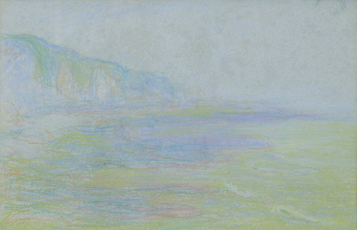Theodore Earl Butler Coast of France Unframed