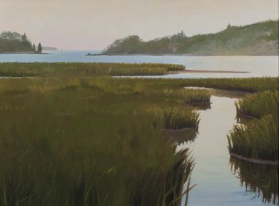 Osborn, Hilary_Sunset on Tobey Island, Maine_unframed.jpg