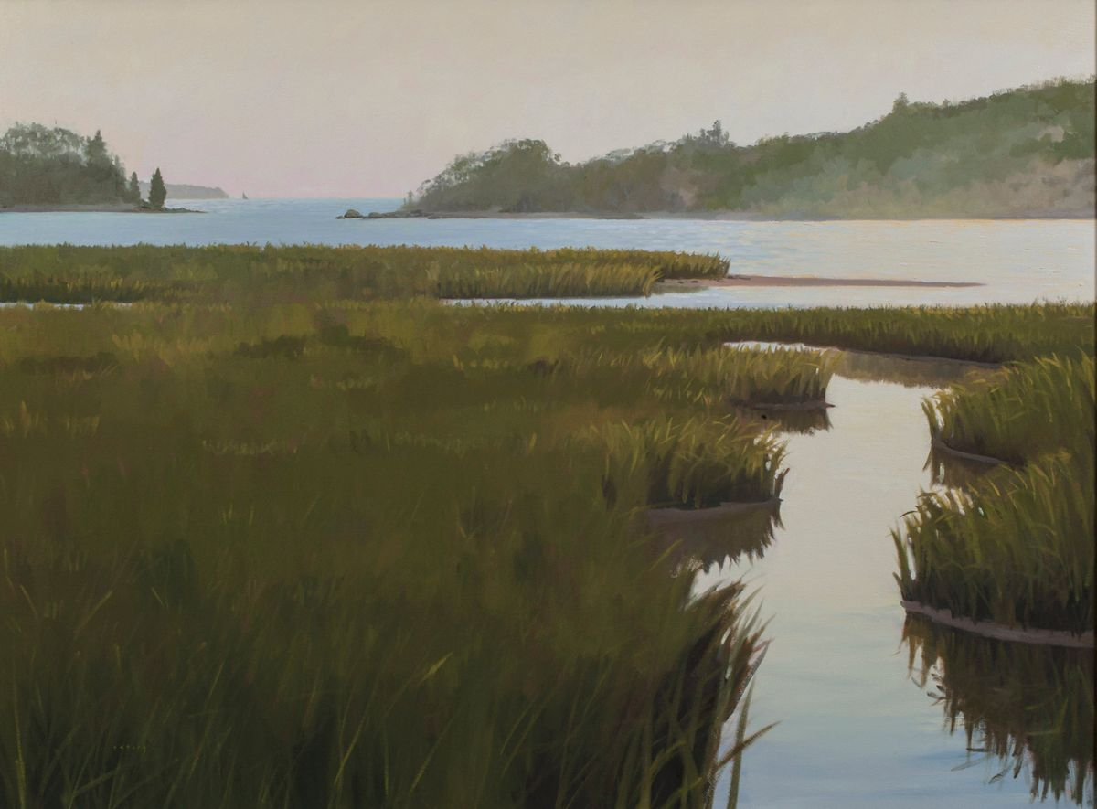 Osborn, Hilary_Sunset on Tobey Island, Maine_unframed.jpg