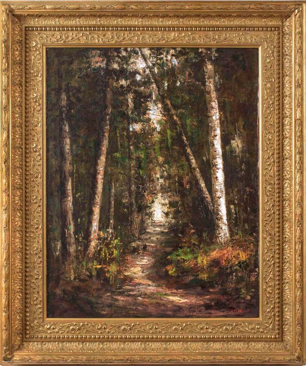 Helen Mary Knowlton Forest Path Framed