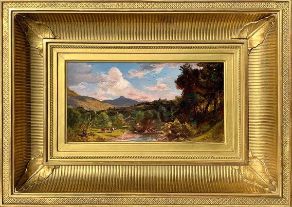 DeWitt Clinton Boutelle View in the White Mountains, Mount Chocorua, 1866