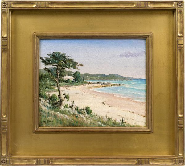 Snow, Walter Francis_Bermuda Beach with Cedar and House.jpg