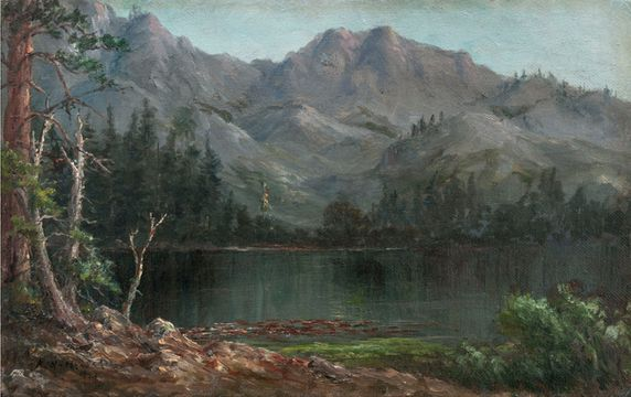 Newhall, Kate W. _In the Sierras_unframed.jpg