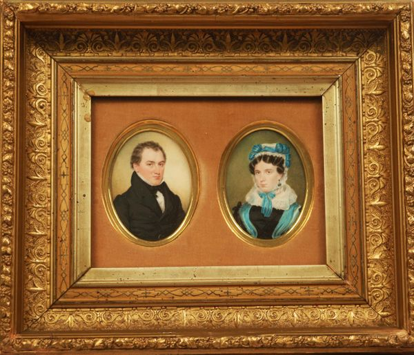 Sarah Goodridge James Trask Woodbury & Augusta Porter Woodbury